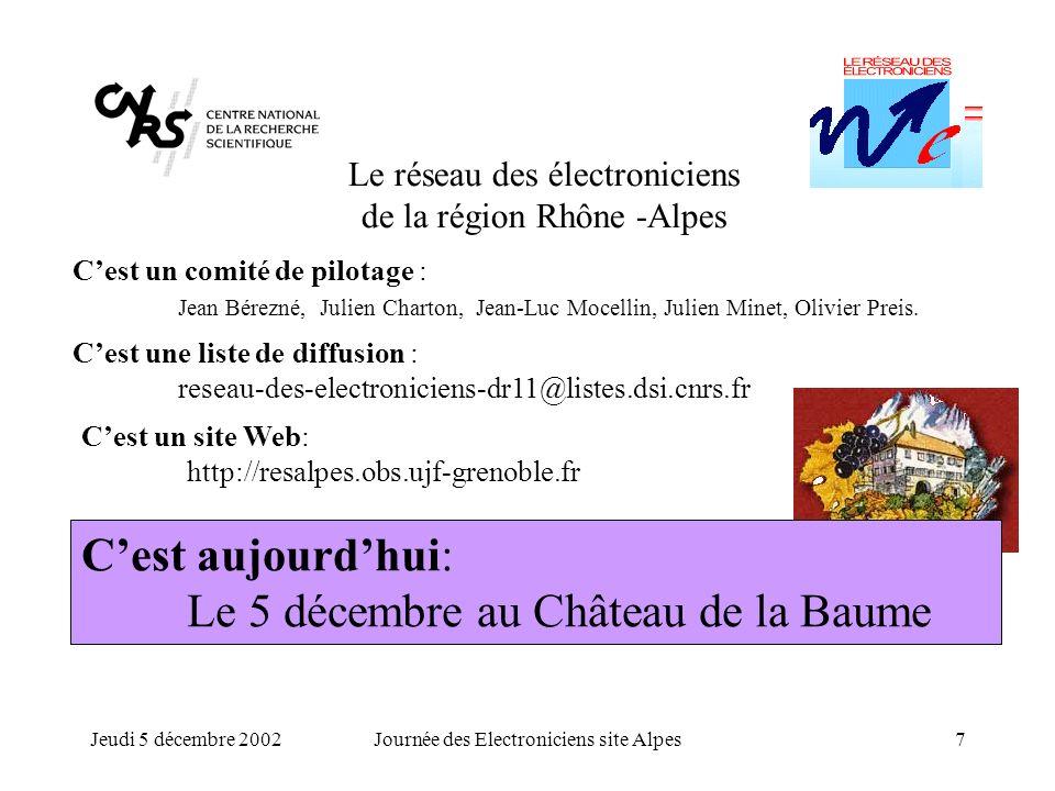 C'est aujourd'hui: Le 5 décembre au Château de la Baume