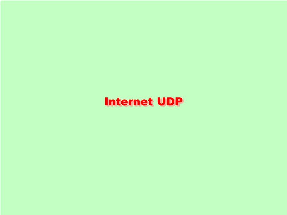 Internet UDP