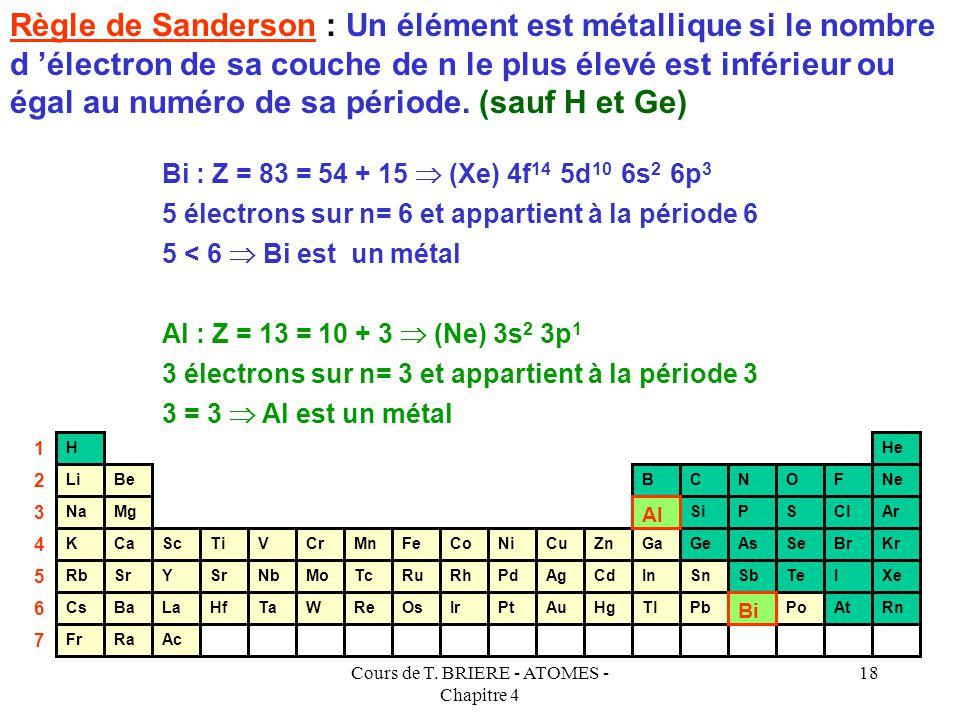 la classification periodique des elements pdf
