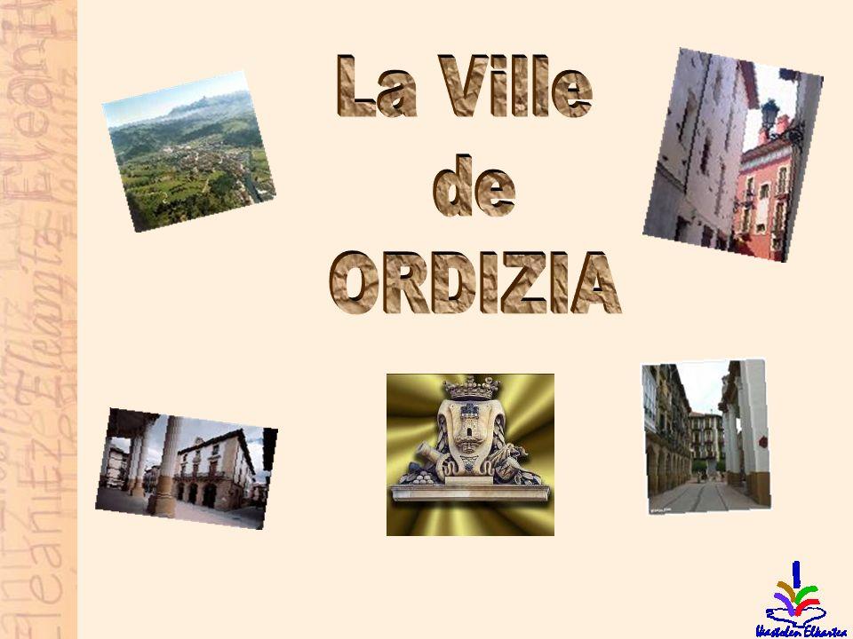 La Ville de ORDIZIA