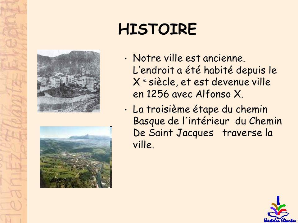 HISTOIRE Notre ville est ancienne. L'endroit a été habité depuis le X e siècle, et est devenue ville en 1256 avec Alfonso X.