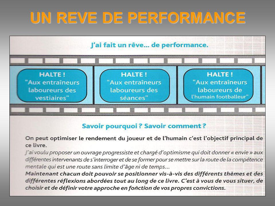 UN REVE DE PERFORMANCE