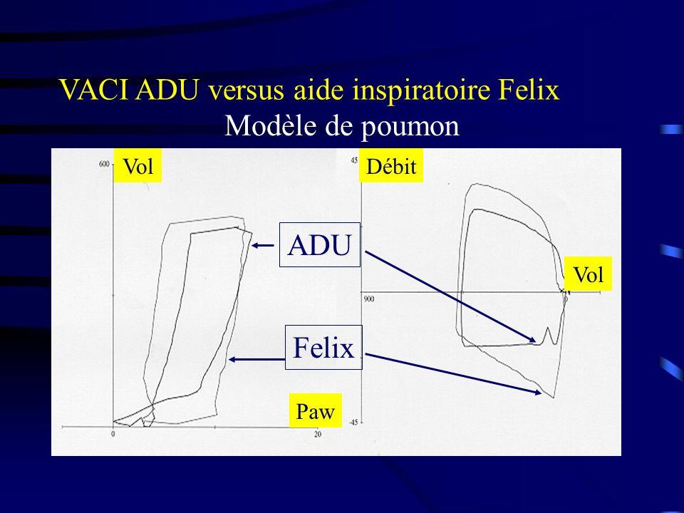 VACI ADU versus aide inspiratoire Felix