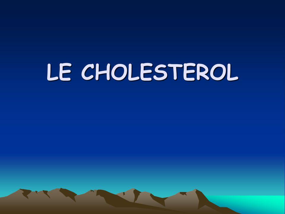 LE CHOLESTEROL