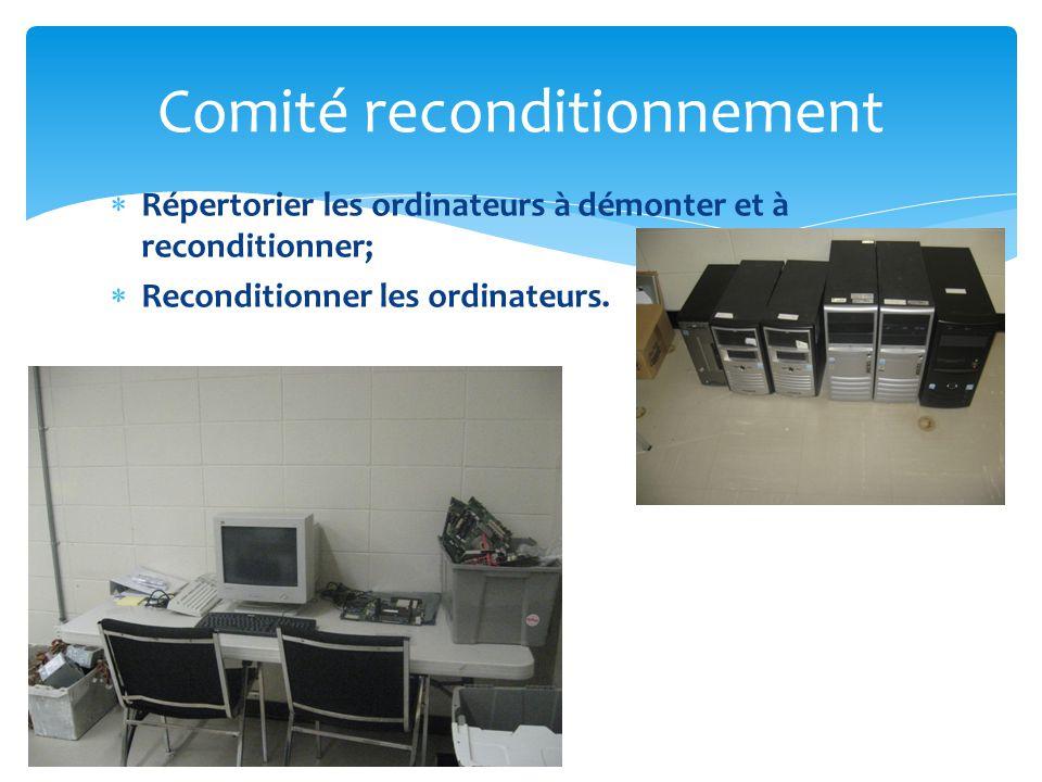 Comité reconditionnement