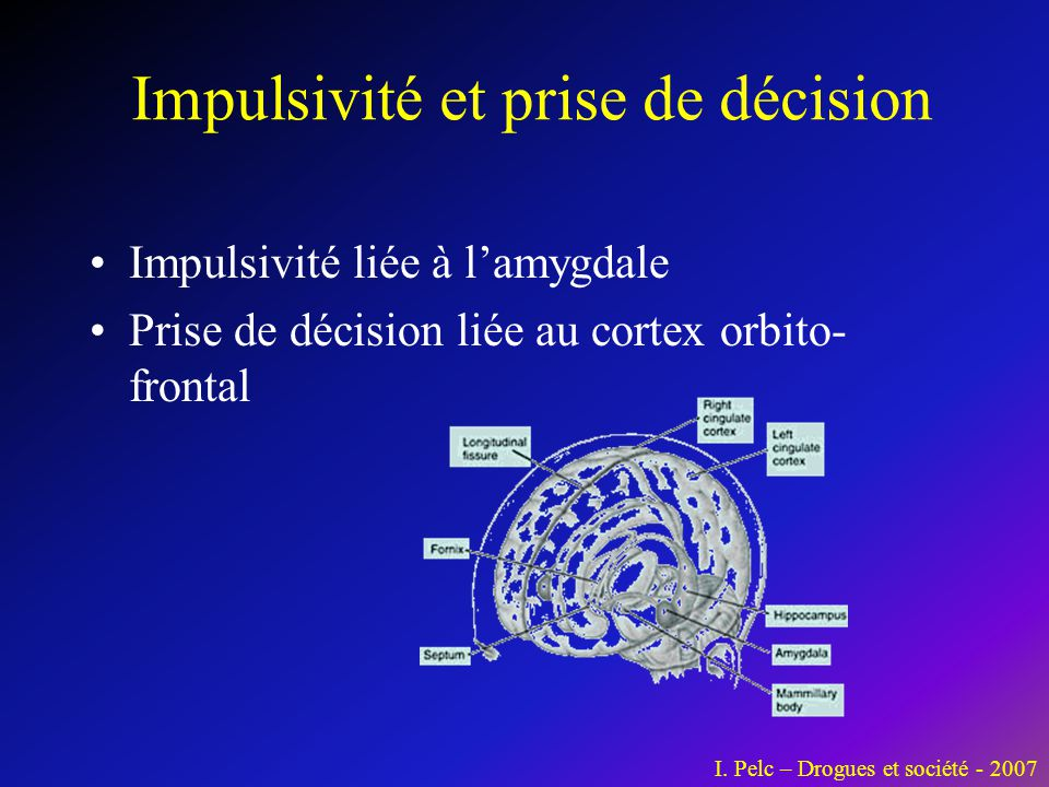 Impulsivité et prise de décision