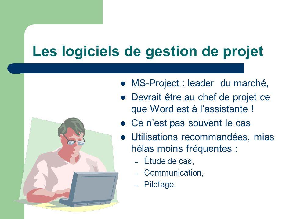 Les logiciels de gestion de projet