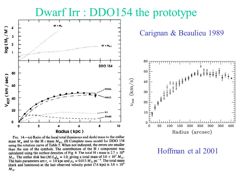 Dwarf Irr : DDO154 the prototype