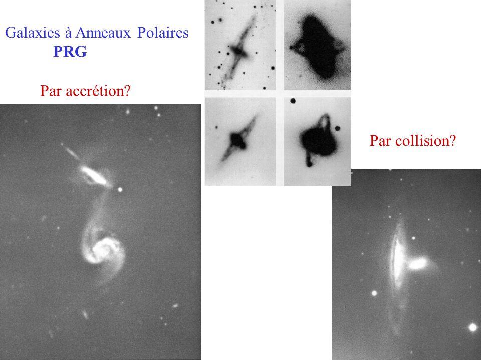 Galaxies à Anneaux Polaires