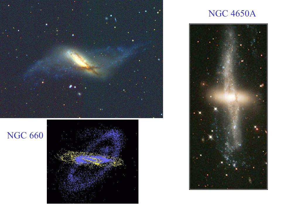 NGC 4650A NGC 660