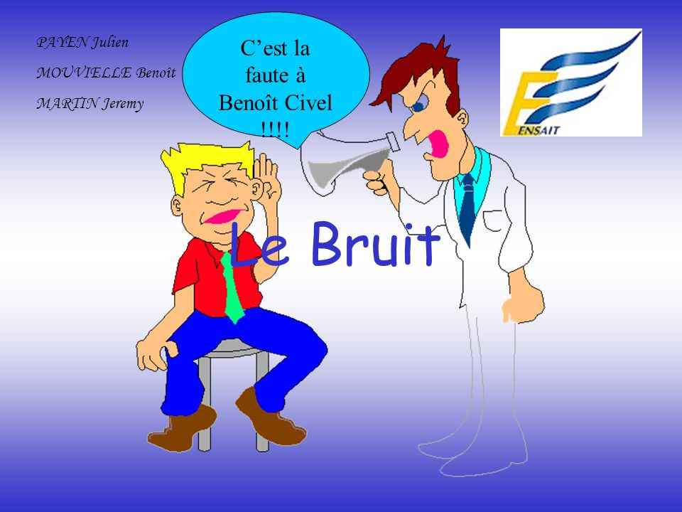 C'est la faute à Benoît Civel !!!!