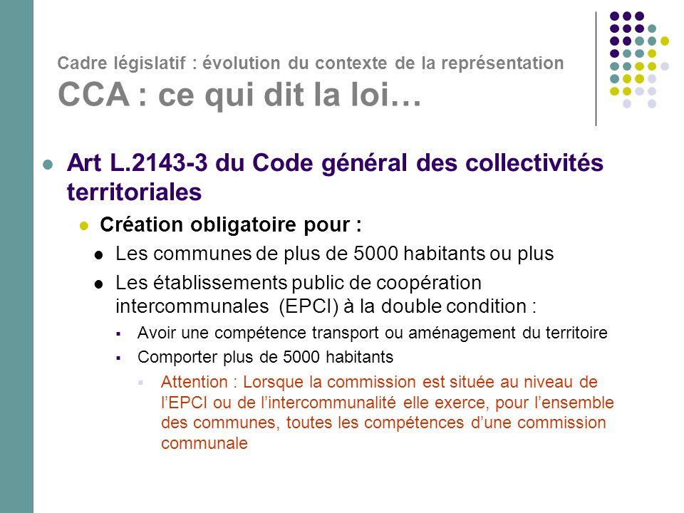 Art L.2143-3 du Code général des collectivités territoriales