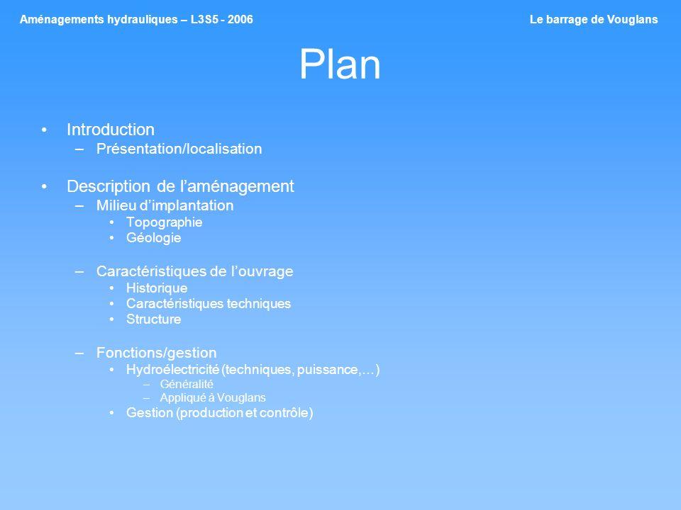 Plan Introduction Description de l'aménagement