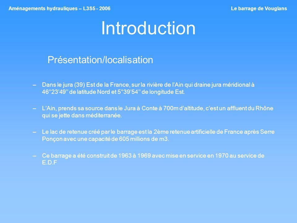 Introduction Présentation/localisation