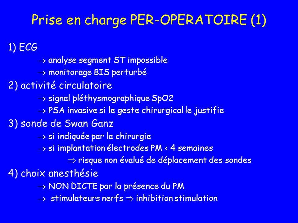 Prise en charge PER-OPERATOIRE (1)