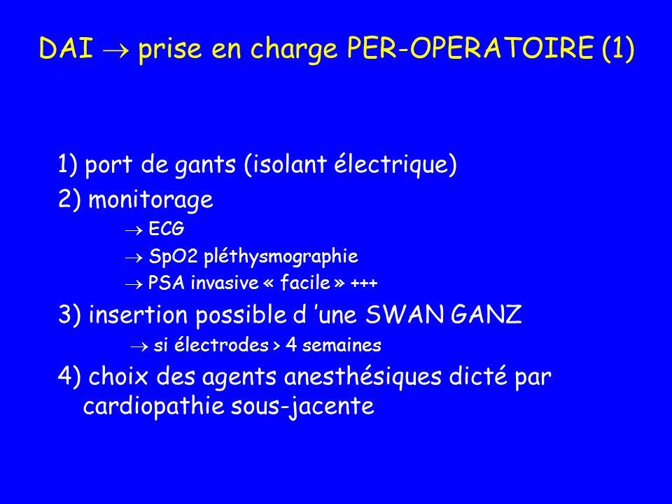 DAI  prise en charge PER-OPERATOIRE (1)