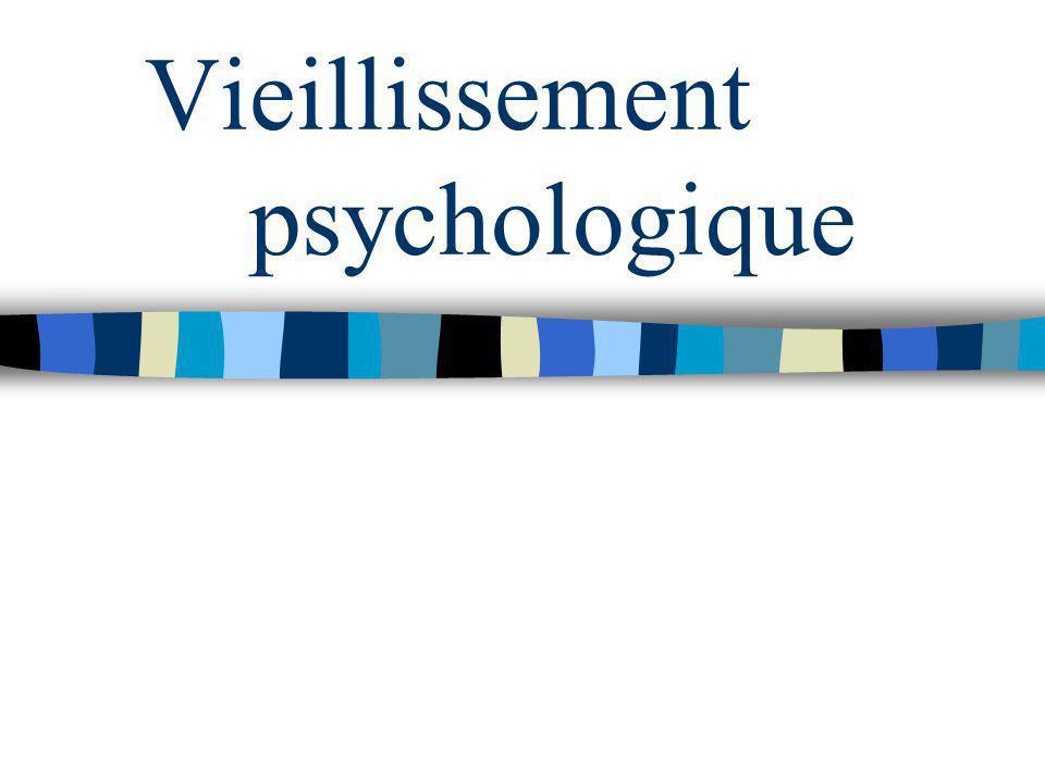 Vieillissement psychologique