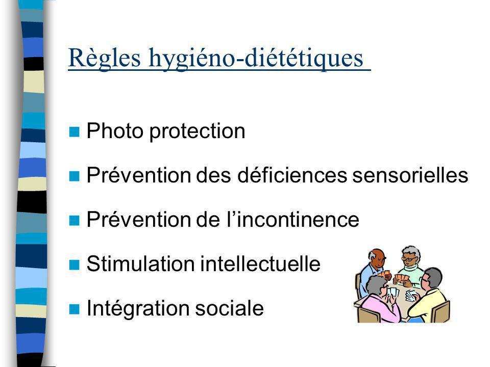 Règles hygiéno-diététiques
