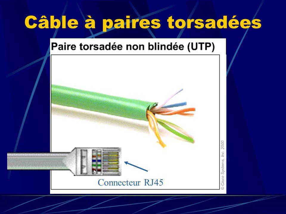 Câble à paires torsadées