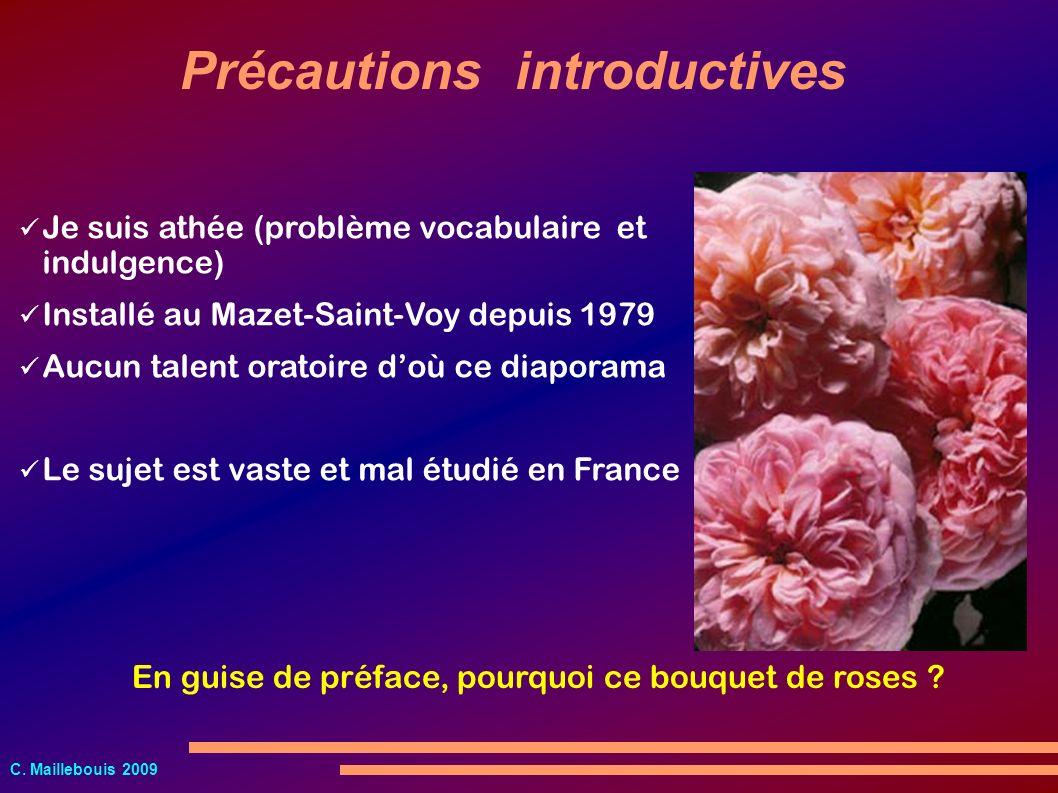Précautions introductives