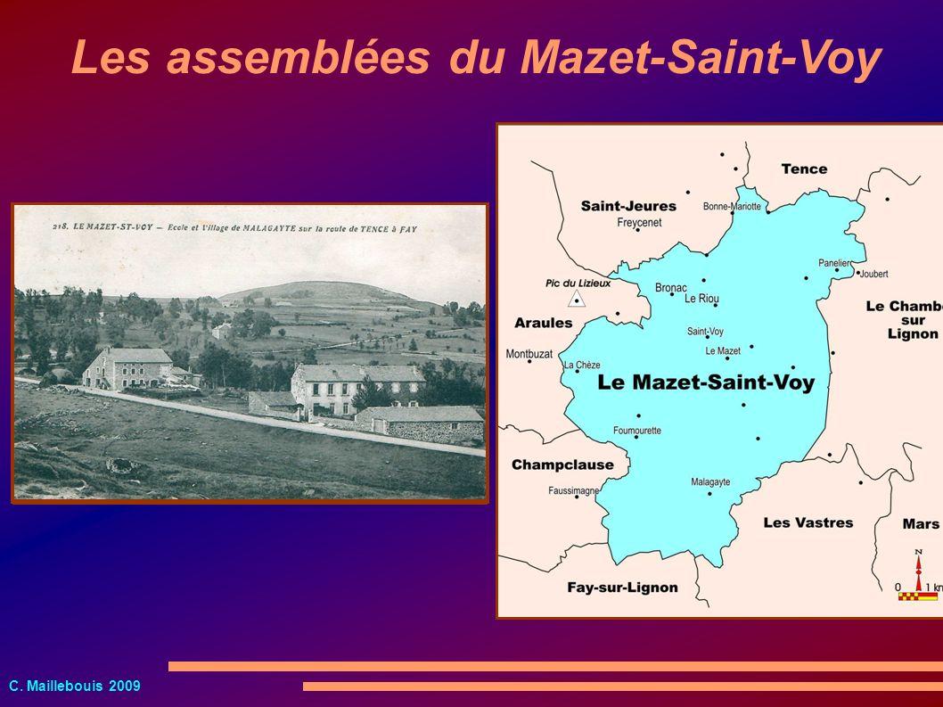 Les assemblées du Mazet-Saint-Voy