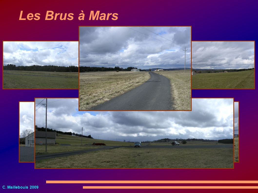Les Brus à Mars