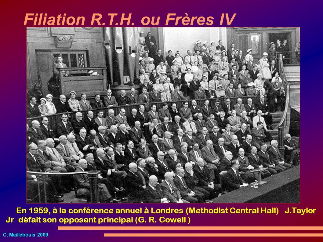 Filiation R.T.H. ou Frères IV