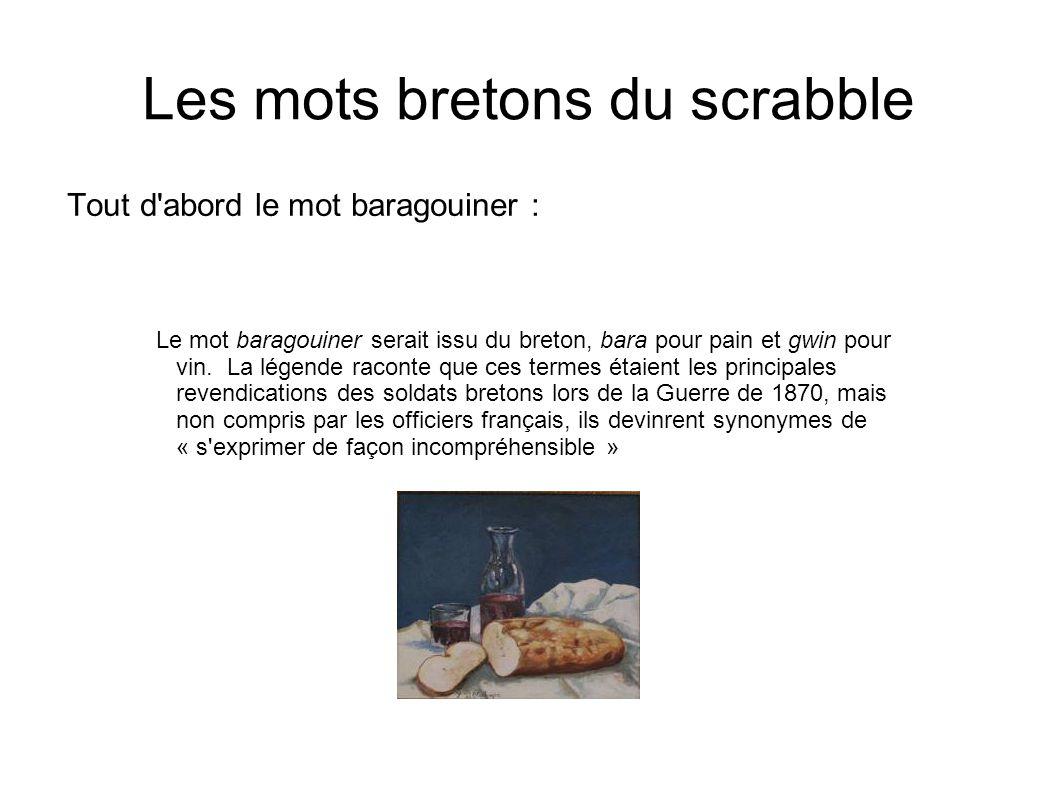 Les mots bretons du scrabble