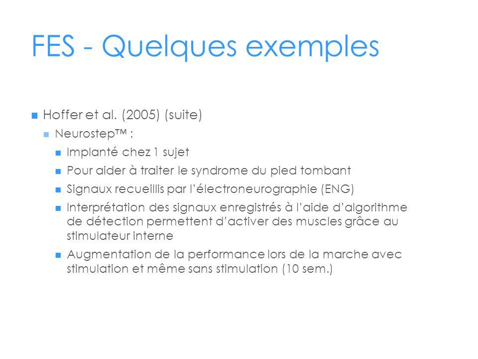 FES - Quelques exemples