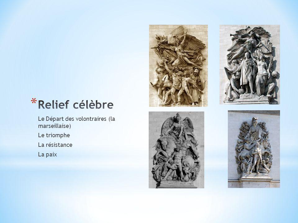 Relief célèbre Le Départ des volontraires (la marseillaise)