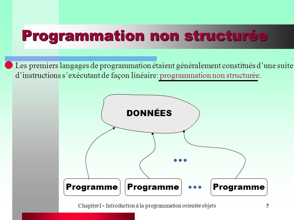 Programmation non structurée