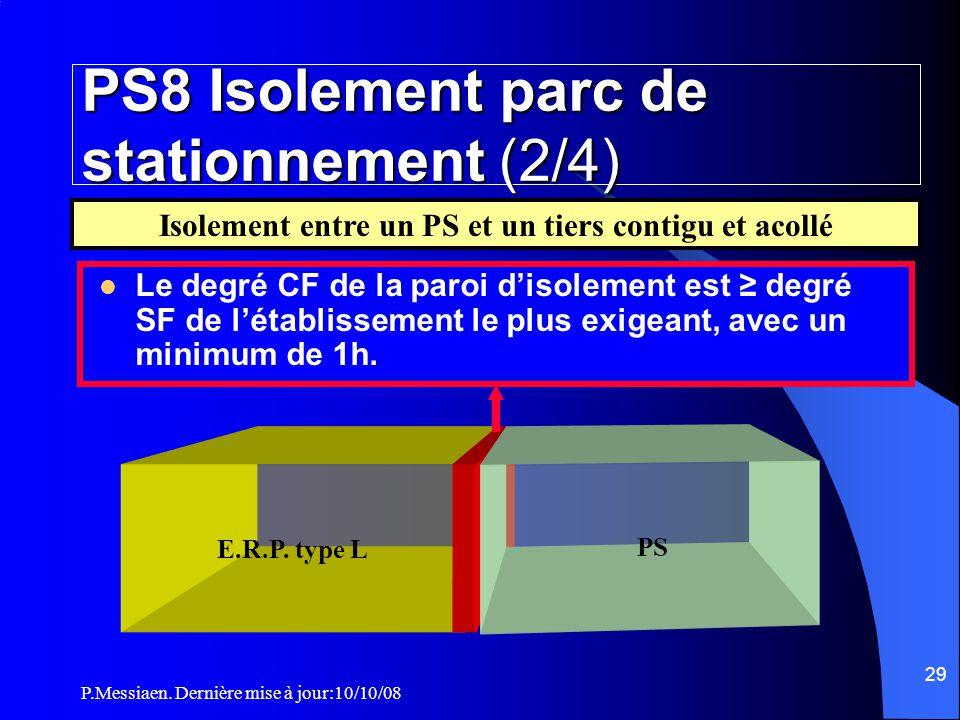 PS8 Isolement parc de stationnement (2/4)