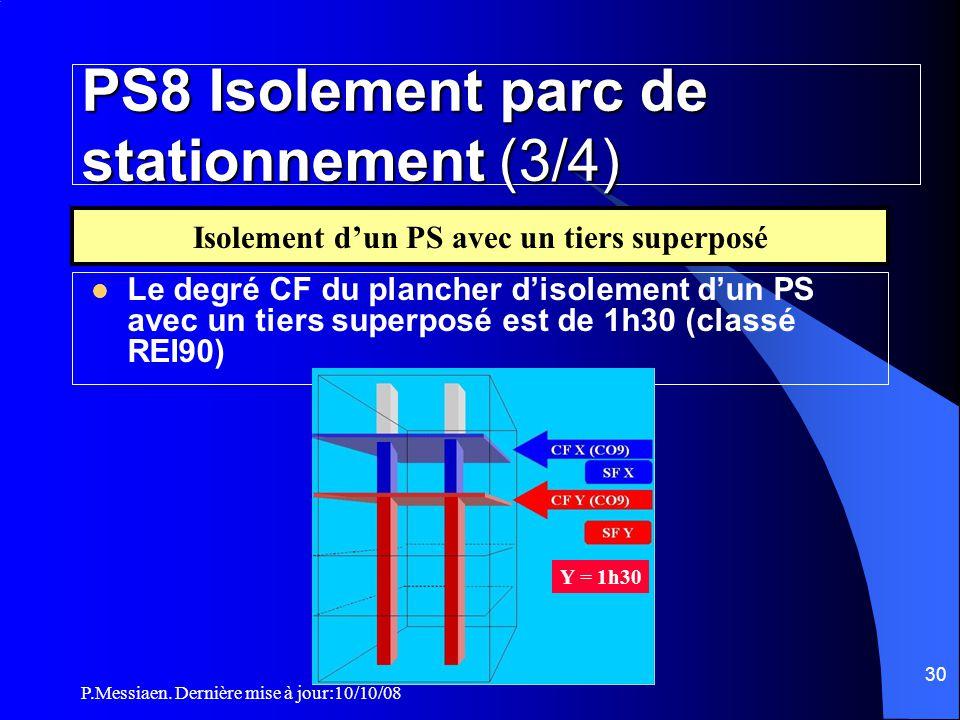 PS8 Isolement parc de stationnement (3/4)