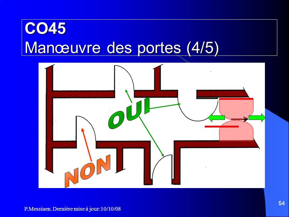 CO45 Manœuvre des portes (4/5)