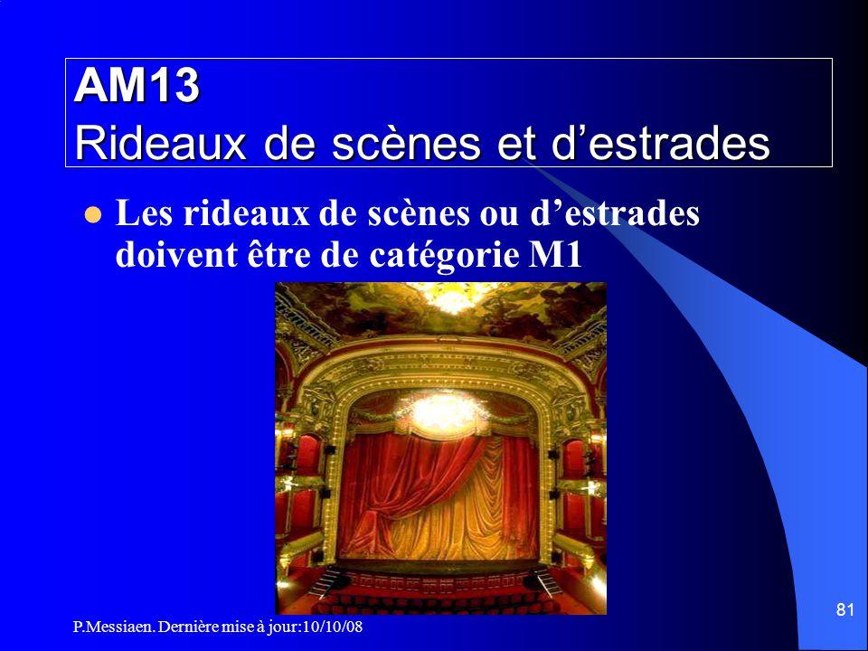 AM13 Rideaux de scènes et d'estrades