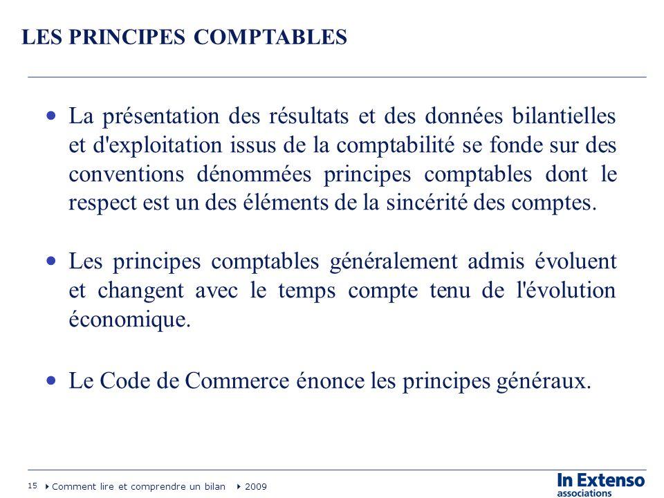Le Code de Commerce énonce les principes généraux.