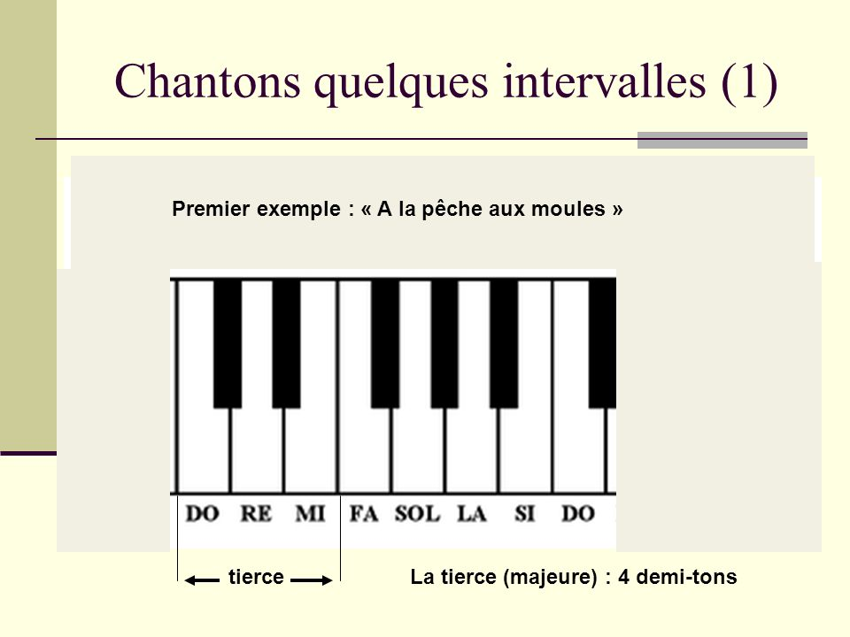 Chantons quelques intervalles (1)