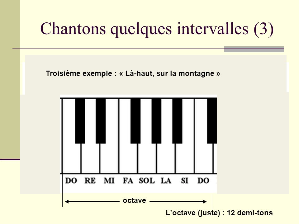 Chantons quelques intervalles (3)