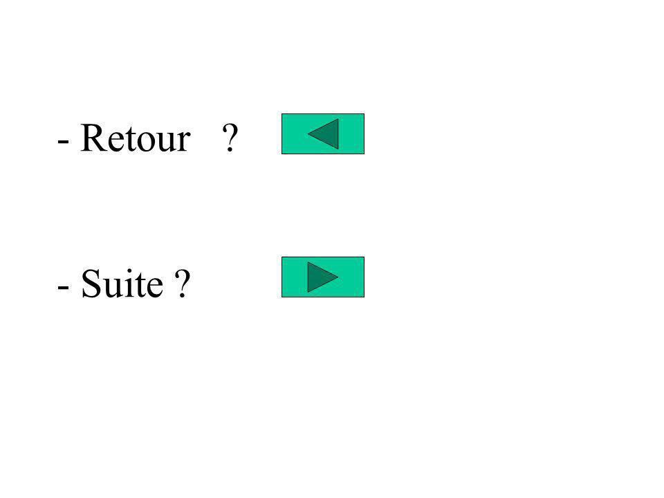 - Retour - Suite
