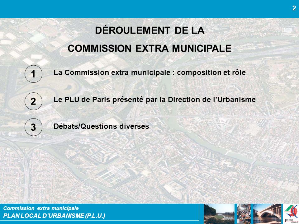 COMMISSION EXTRA MUNICIPALE