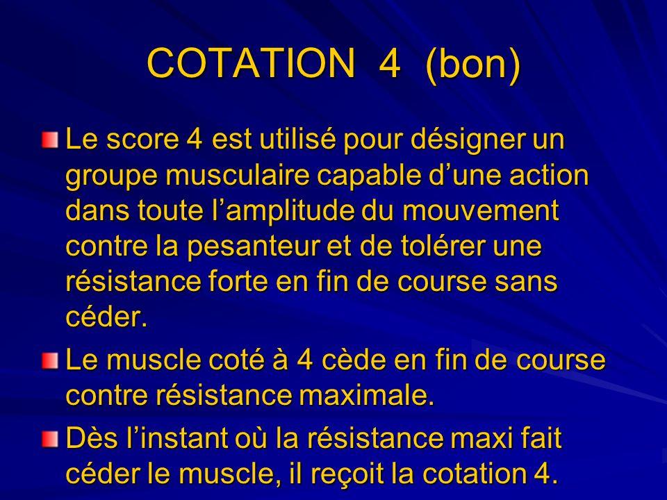 COTATION 4 (bon)