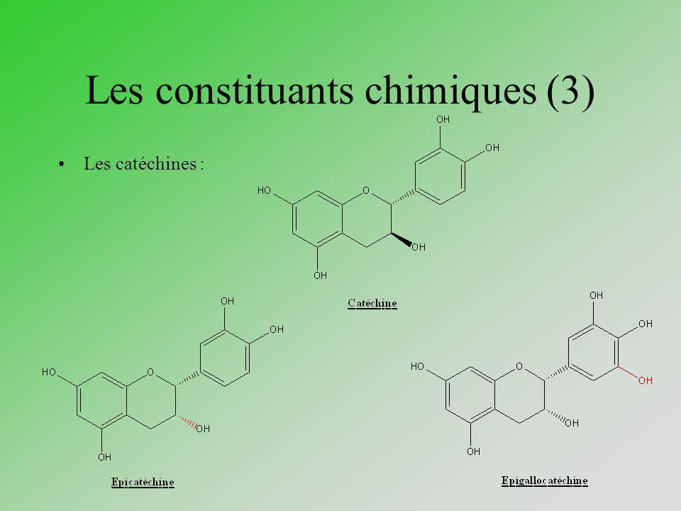 Les constituants chimiques (3)