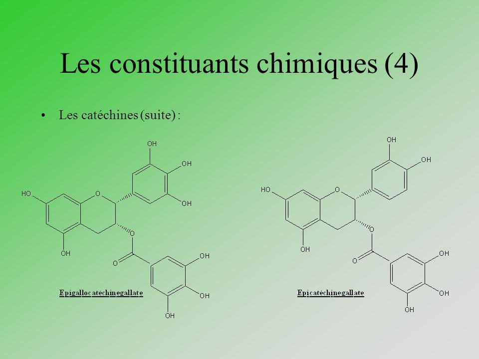 Les constituants chimiques (4)