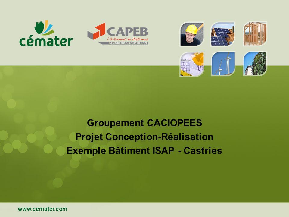 Projet Conception-Réalisation Exemple Bâtiment ISAP - Castries