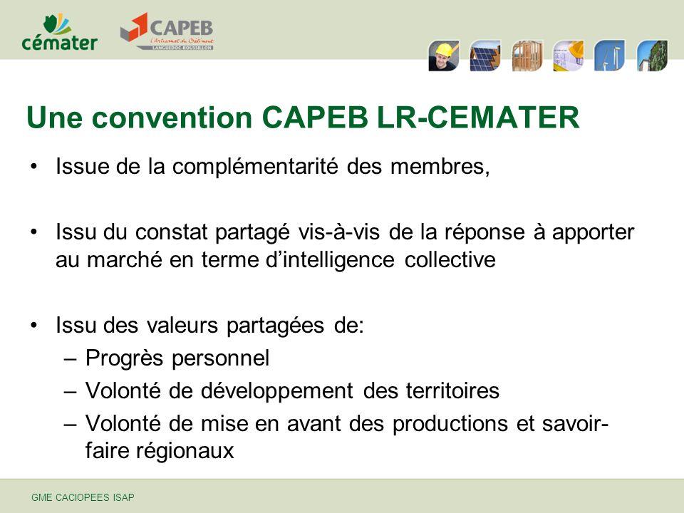 Une convention CAPEB LR-CEMATER