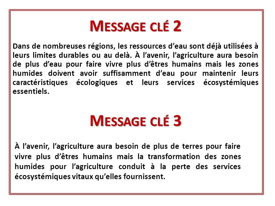 Message clé 2 Message clé 3