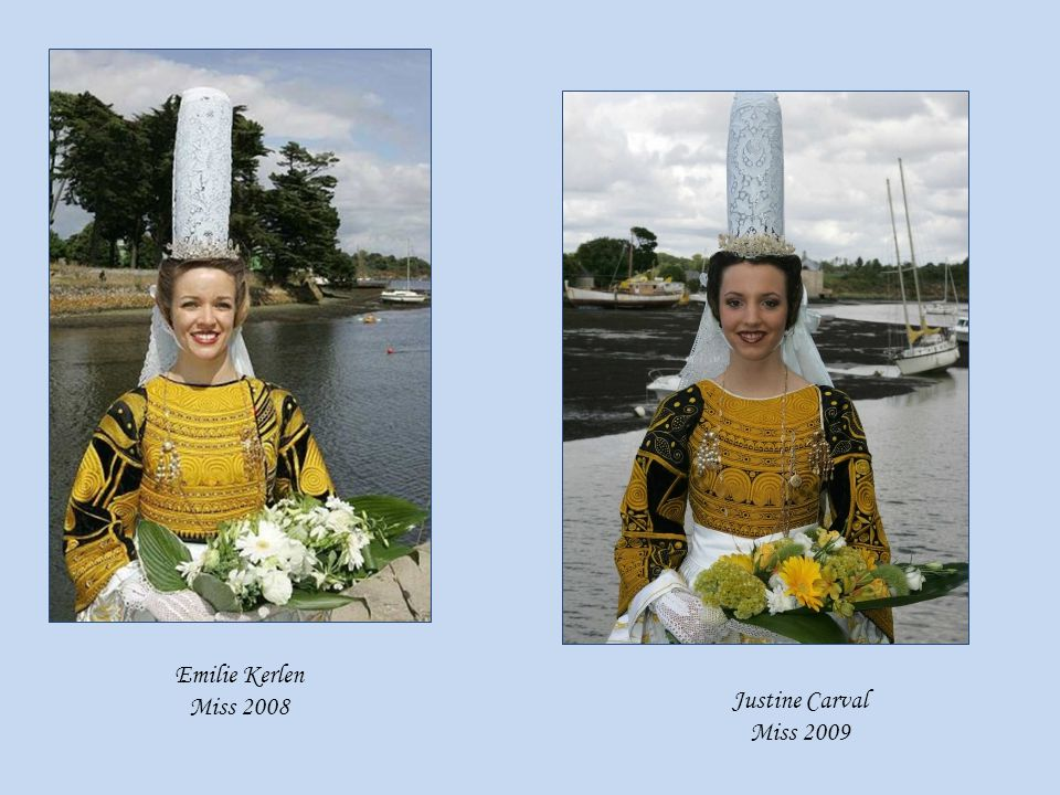 Emilie Kerlen Miss 2008 Justine Carval Miss 2009