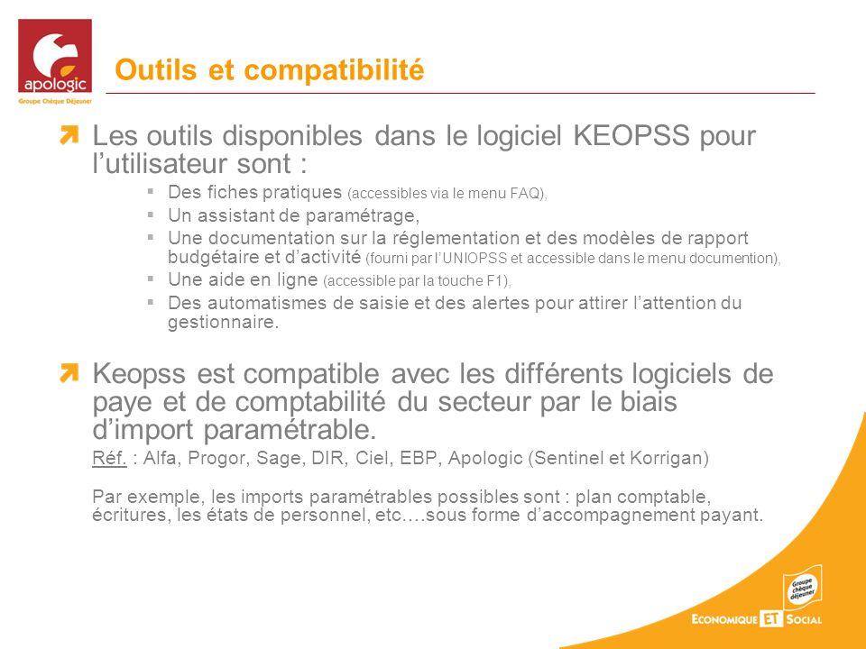 Outils et compatibilité
