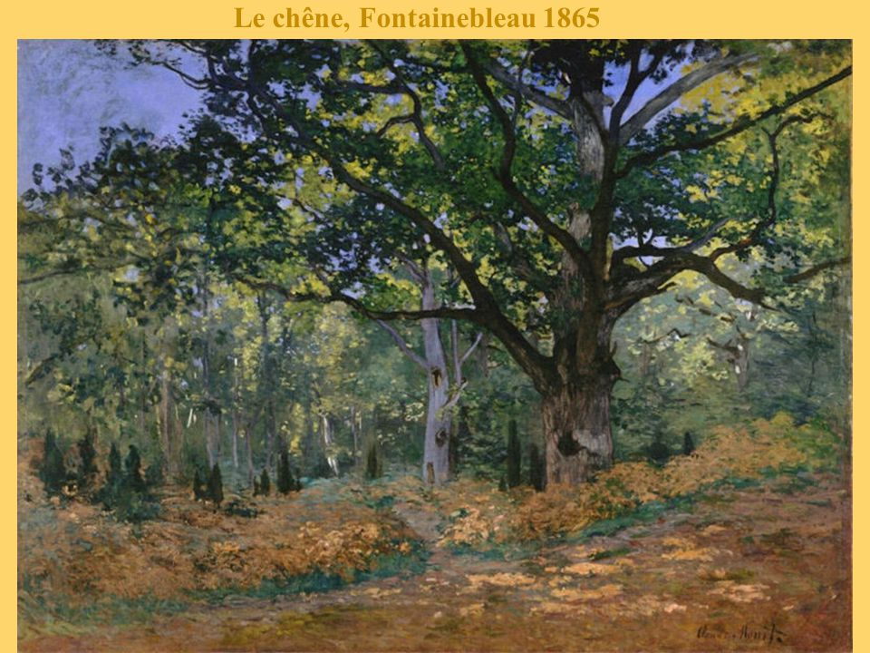 Le chêne, Fontainebleau 1865