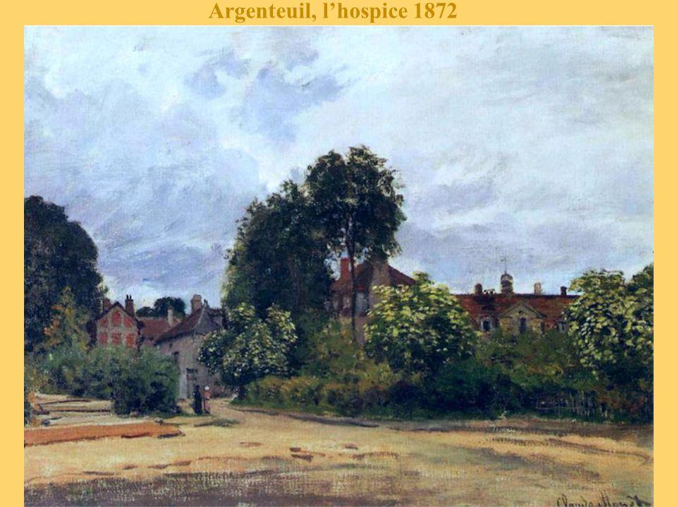 Argenteuil, l'hospice 1872